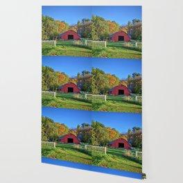 Barn At The Edge 2 Wallpaper