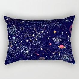 Space print Rectangular Pillow