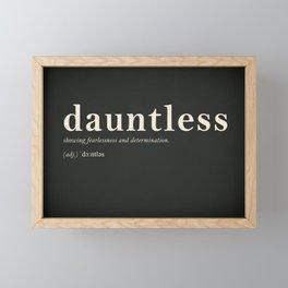 Dauntless Framed Mini Art Print