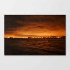 VIEW FROM FORT BAKER II Canvas Print