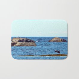 Time to Fly, Seal you Later Bath Mat