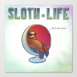 SLOTH LIFE fig. 7. Canvas Print
