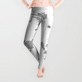 Technicum: Man-Machine Leggings