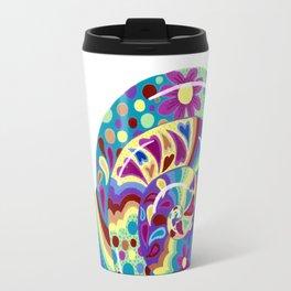 Psychedelic Snail 2 Travel Mug