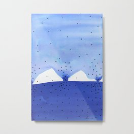 Bright blue series #4 Metal Print