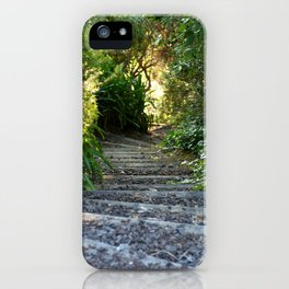 Down the Garden Path iPhone Case