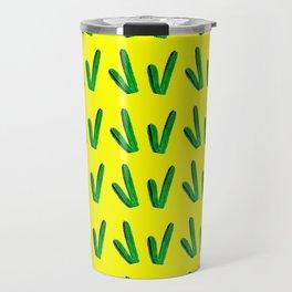 Your Stuck With Me - Yellow Travel Mug