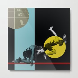 THE HARE & THE HOUND Metal Print