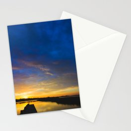 Sunset Blues Stationery Cards