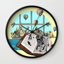 Summer days are over Wall Clock