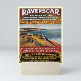 retro Ravenscar Mini Art Print