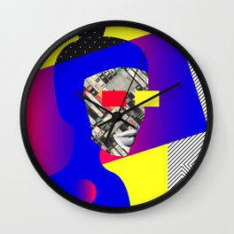 Space Portrait Wall Clock