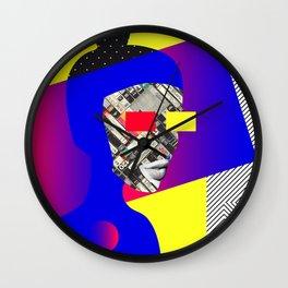 Space Portrait Wall Clock
