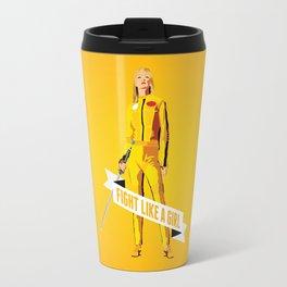 Fight Like a Girl: Beatrix Kiddo Travel Mug