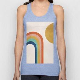 The Sun and a Rainbow Unisex Tank Top