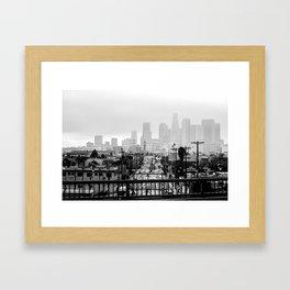 Angel City Framed Art Print