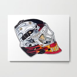 Kiprusoff - Mask Metal Print