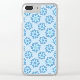 ENLIGHTENED Lotus Pattern Clear iPhone Case