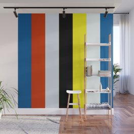 Ellsworth Kelly Red Yellow Blue White and Black Wall Mural
