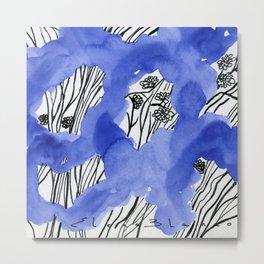Blue 101 Metal Print