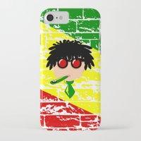 reggae iPhone & iPod Cases featuring Reggae Kazoo by mailboxdisco