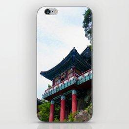 Temple Sasung 1 iPhone Skin