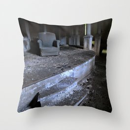 Save Me A Seat Throw Pillow