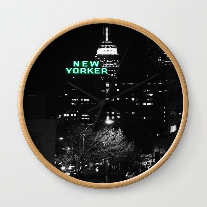 New Yorker : New York City Mint Wall Clock