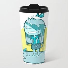 Aquarius Metal Travel Mug