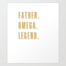 Mens Omega Psi Phi Fraternity, Inc. T-shirt Art Print