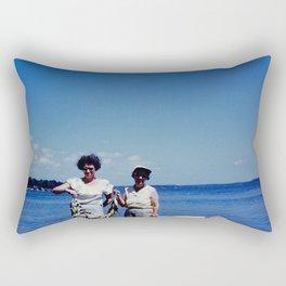 Fishing Ladies Rectangular Pillow