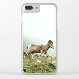 Mountain Ram Clear iPhone Case