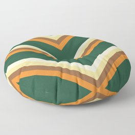 Mexican poncho pattern Floor Pillow