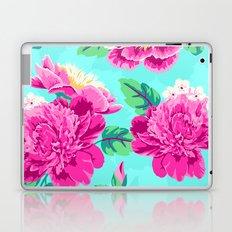 Bright Flowers Pretty Peonies Laptop & iPad Skin