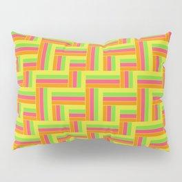 Straight Herringbone - Juicy Fruit Pillow Sham