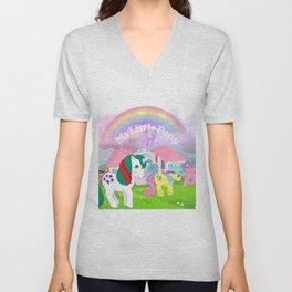 g1 my little pony Unisex V-Neck