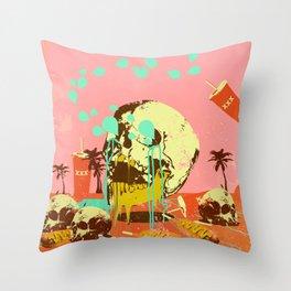 SUMMER SEANCE Throw Pillow