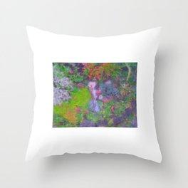 Peace and comfort Throw Pillow