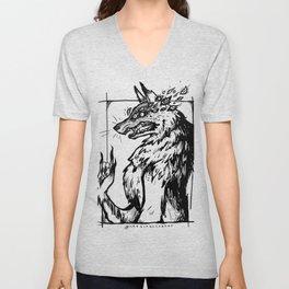 Eye Wolf Unisex V-Neck