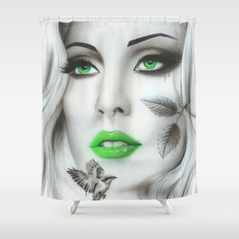 'Earth Bound' Shower Curtain