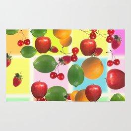 fruit salad Rug