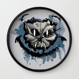 Happy Dead Guy Wall Clock