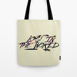 Lost in the world Tote Bag
