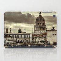 cuba iPad Cases featuring CUBA - CAPITOLIO by mayavisual