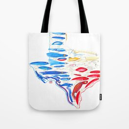 Live for the Catch- Texas Lures Tote Bag