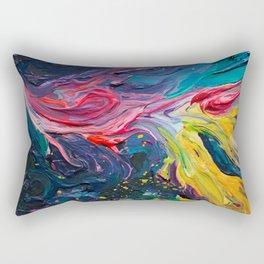 Bird Flower Rectangular Pillow