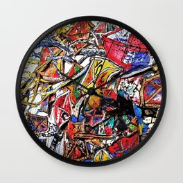 Kite Party Wall Clock