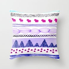 Pattern / Nr. 6 Throw Pillow