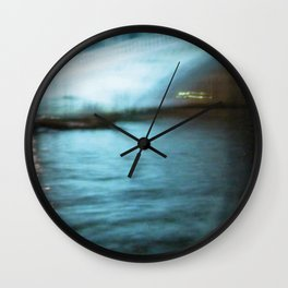City Lights: Venice – Canal Grande – Ponte di Rialto # 201 Wall Clock