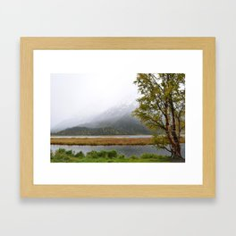 Season's First Snow II Framed Art Print